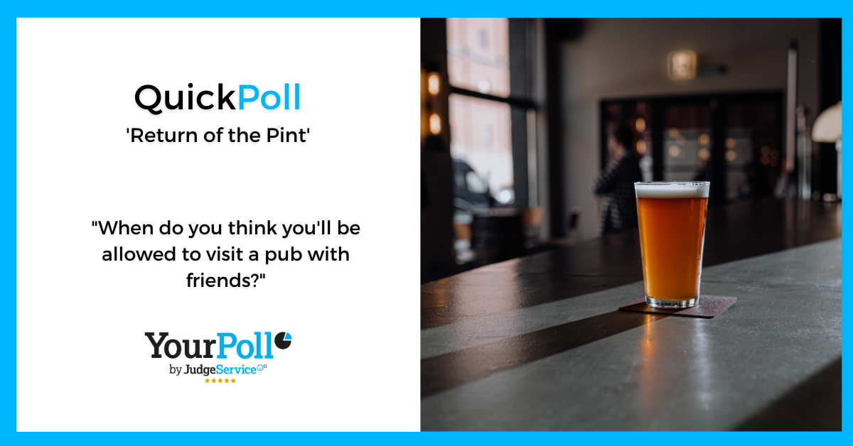 QuickPoll Return of the Pint